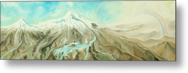 Ararat Metal Print by Sandra Yegiazaryan