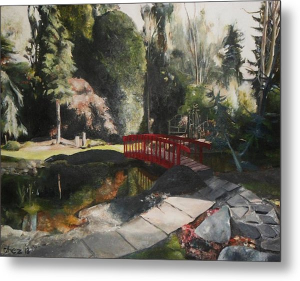 Arbour Bridge Metal Print