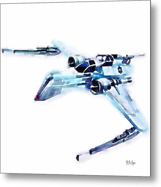Arc-170 Starfighter Metal Print