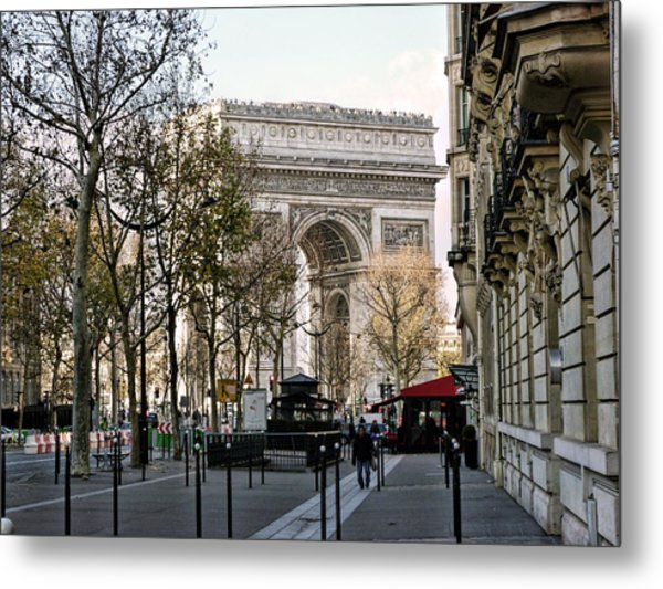 Arc De Triomphe Paris Metal Print