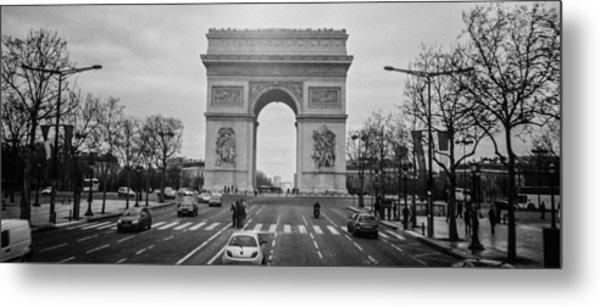 Arc De Triomphe Metal Print by Steven  Taylor