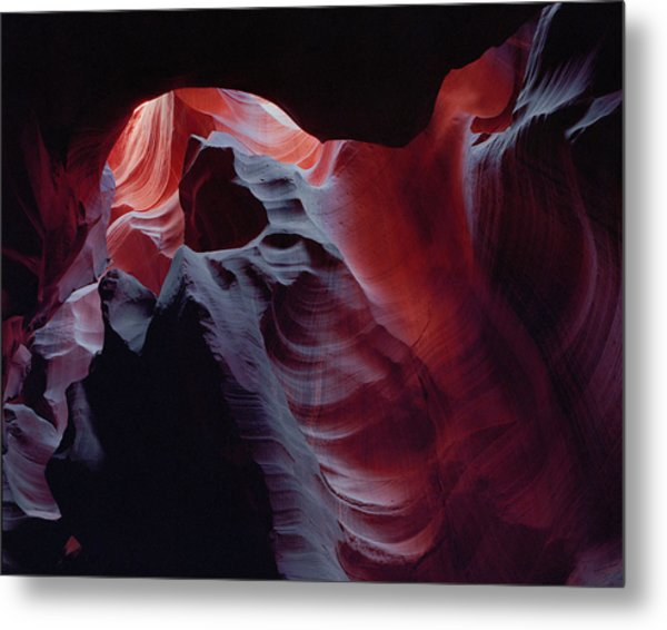 Arc Light Metal Print