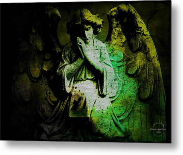 Archangel Uriel Metal Print
