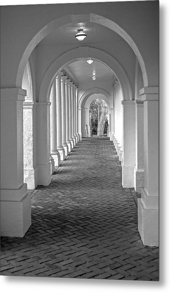Arches At The Rotunda At University Of Va 2 Metal Print