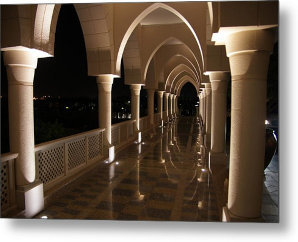 Arches In Abu Dhabi Metal Print