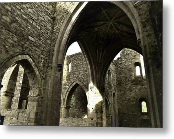 Arches Of Ages - Jerpoint Abbey Metal Print