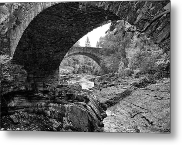 Arches Of Invermoriston Metal Print