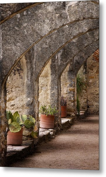 Arches Of San Jose Metal Print