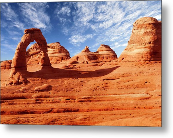 Arches Metal Print by Wsfurlan