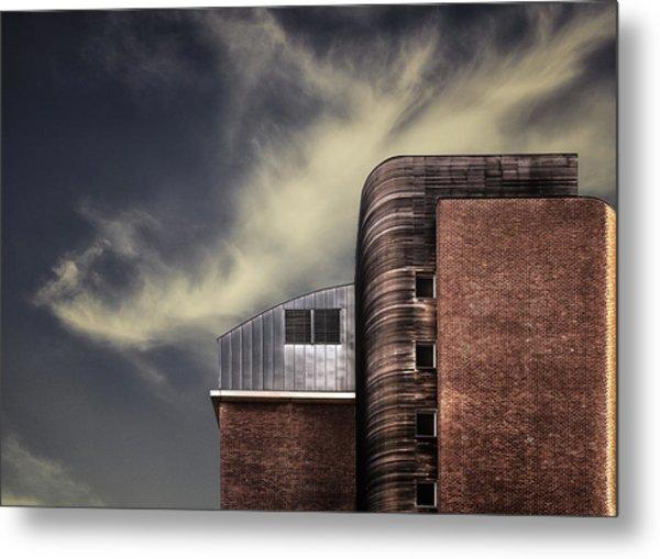 Archi-mix. Metal Print by Harry Verschelden