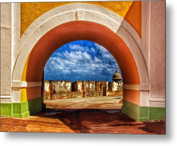 Arching Metal Print by Kathi Isserman