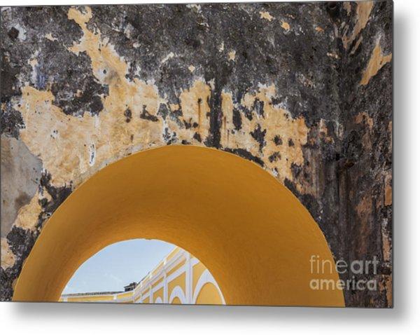 Architectural Detail At Castillo San Felipe Del Morro Metal Print