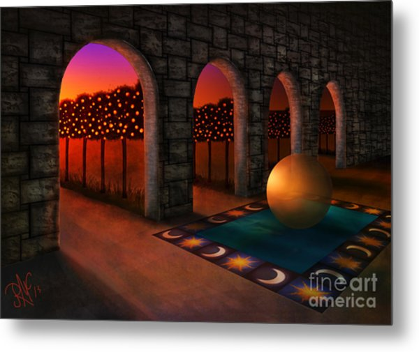 Archway Of Silence Metal Print