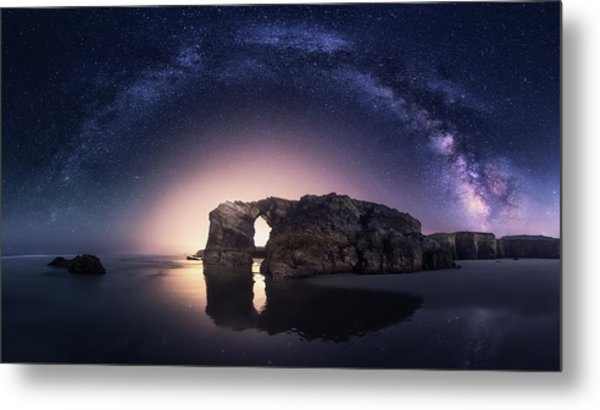 Arcos Naturales Metal Print by Carlos F. Turienzo