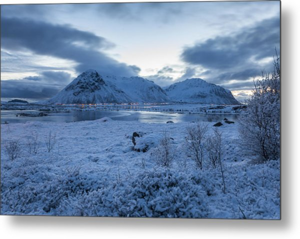 Arctic Morning Metal Print