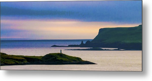 Ardtreck Point Lighthouse Metal Print