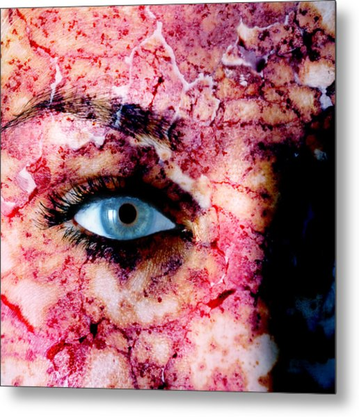 Are You Looking Metal Print