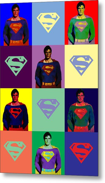 Are You Super? Metal Print