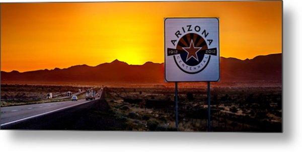 Arizona Centennial Metal Print