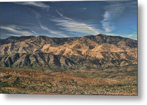 Arizona Lonesome Metal Print by Carolyn Fletcher