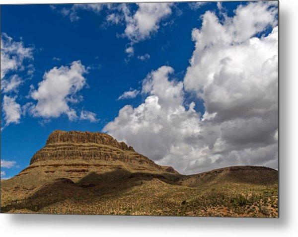 Arizona Mountain Under Blue Skies Metal Print by Willie Harper