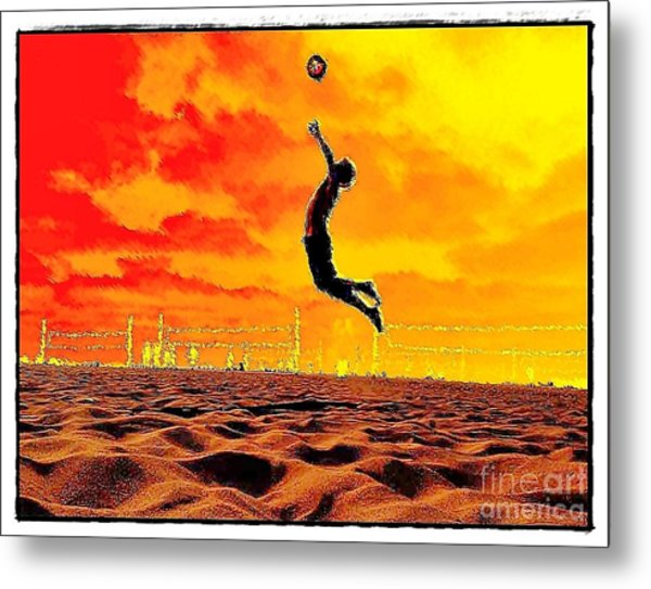 Arizona Rising Metal Print by Scott Allison
