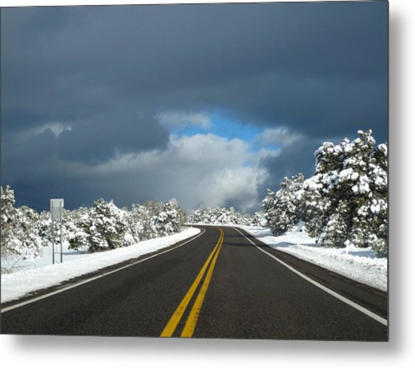 Arizona Snow 1 Metal Print