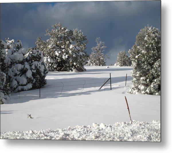Arizona Snow 3 Metal Print