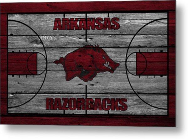 Arkansas Razorbacks Metal Print