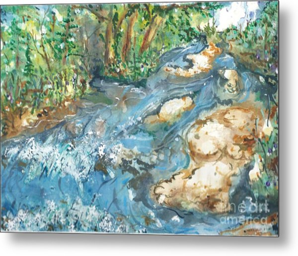 Arkansas Stream Metal Print