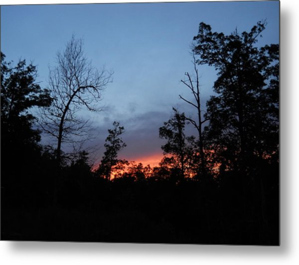 Arkansas Sunset Metal Print