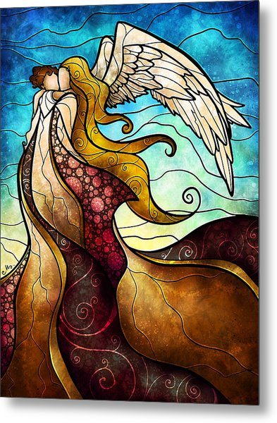 Arms Of The Angel Metal Print