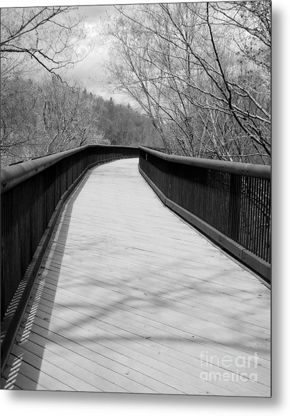Metal Print featuring the photograph Around The Bend by Kristen Fox