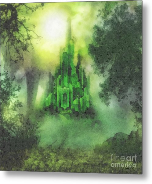 Arrival To Oz Metal Print
