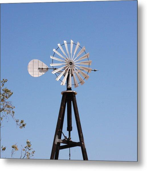 Arrow Windmill Metal Print
