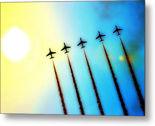 Arrows Metal Print by Stephen Richards