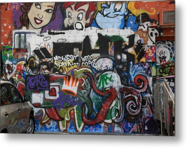 Art Alley 4 Metal Print