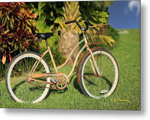 Art Bike Metal Print