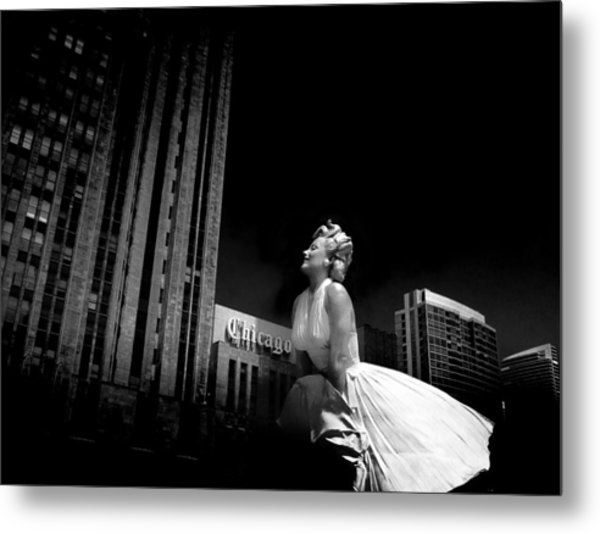 Art In Chicago Metal Print