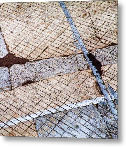 Art In The Street 3 Metal Print