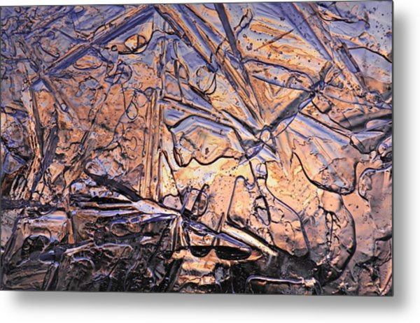 Art Of Ice 2 Metal Print