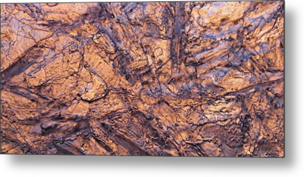 Art Of Ice Metal Print