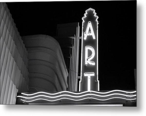 Art Theatre Long Beach Denise Dube Metal Print