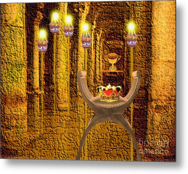 Artifacts From Castle Metal Print