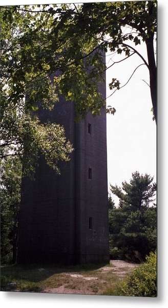 Artillery Spotting Tower Metal Print by David Fiske