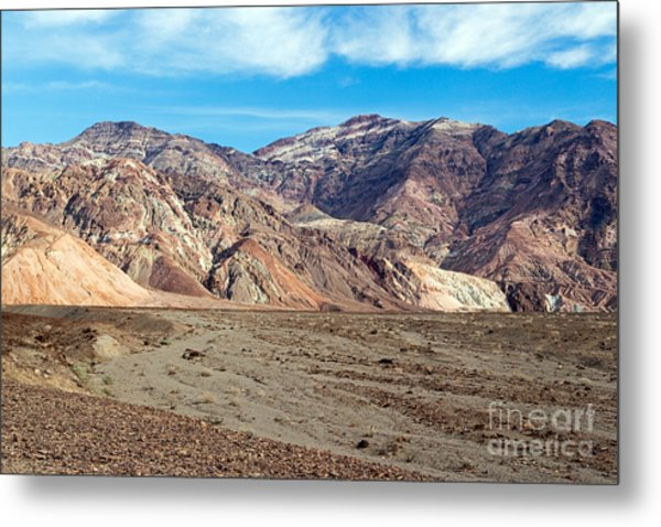 Artist Drive Death Valley National Park Metal Print