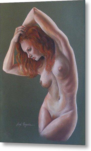 Artistic Nude Metal Print