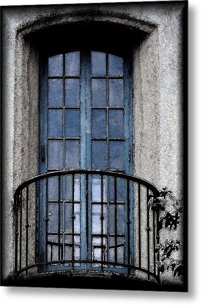 Artistic Window Metal Print