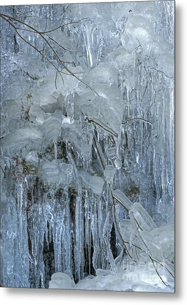 Artistry In Ice 9 Metal Print