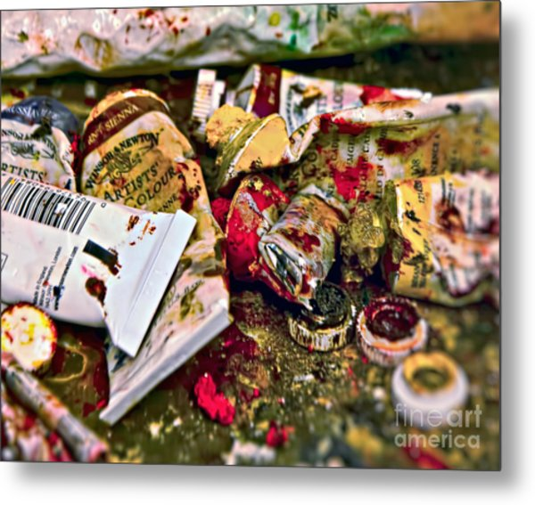 Artists' Colours Metal Print
